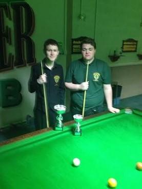 Winner Peter Berryman & runner-up Connell Doherty